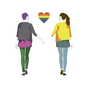 coppia arcobaleno L
