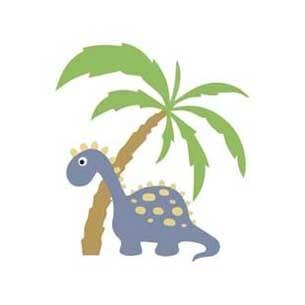 dinosauro blu
