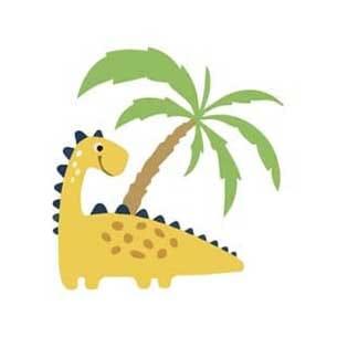 dinosauro giallo