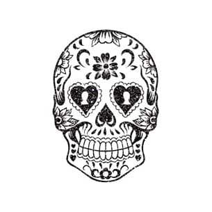 sugar skull BKG